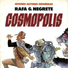 Comics: COSMOPOLIS (TOUTAIN, 1986) DE RAFA G. NEGRETE COL JOVENES AUTORES ESPAÑOLES-3. Lote 140437610