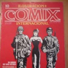 Cómics: ILUSTRACIÓN + COMIX INTERNACIONAL NUMERO 10.. Lote 140482542