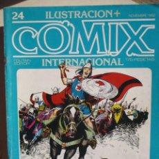 Cómics: ILUSTRACIÓN + COMIX INTERNACIONAL NUMERO 24.. Lote 140482618