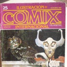 Cómics: ILUSTRACIÓN + COMIX INTERNACIONAL NUMERO 25.. Lote 140482682