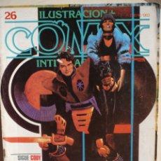 Cómics: ILUSTRACIÓN + COMIX INTERNACIONAL NUMERO 26.. Lote 140482726