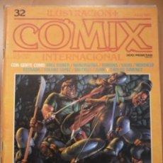Cómics: ILUSTRACIÓN + COMIX INTERNACIONAL NUMERO 32.. Lote 140482830