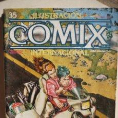 Cómics: ILUSTRACIÓN + COMIX INTERNACIONAL NUMERO 35.. Lote 140482906