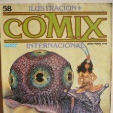 Cómics: ILUSTRACIÓN + COMIX INTERNACIONAL NUMERO 58.. Lote 140482938