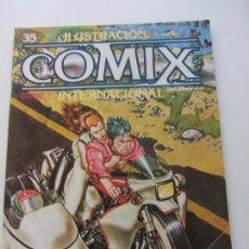 Cómics: ILUSTRACIÓN + COMIX INTERNACIONAL Nº 35 - TOUTAIN E2. Lote 140539134