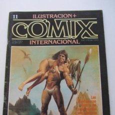 Cómics: ILUSTRACIÓN + COMIX INTERNACIONAL Nº 11 - TOUTAIN E2. Lote 140539174
