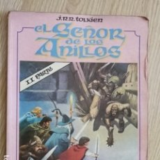 Cómics: EL SEÑOR DE LOS ANILLOS II PARTE TOUTAIN EDITOR COMIC AÑO 1980 VOL. 2. Lote 140594602