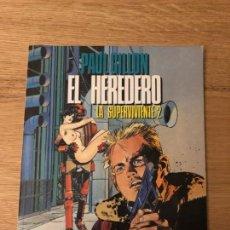 Cómics: EL HEREDERO, PAUL GILLON, LA SUPERVIVIENTE 2, EDITORIAL TOUTAIN, IMPECABLE!!. Lote 141131622