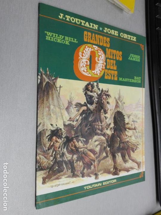 GRANDES MITOS DEL OESTE / J. TOUTAIN - JOSÉ ORTIZ / TOUTAIN EDITOR 1987 (Tebeos y Comics - Toutain - Álbumes)