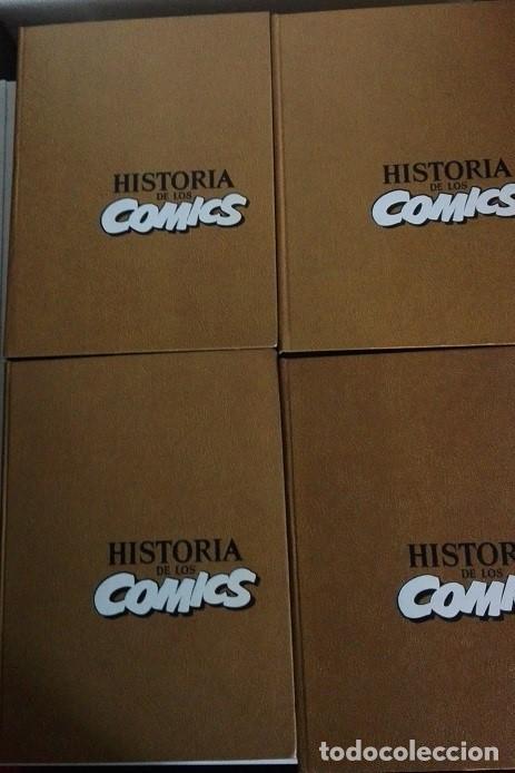 Cómics: HISTORIA DE LOS COMICS 4 TOMOS. COMPLETA. AÑO 1982 - Foto 2 - 141868334