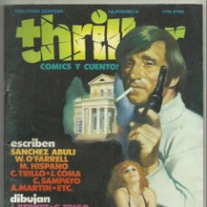 Cómics: THRILLER, Nº 6. COMICS Y CUENTOS. GENERO NEGRO. PAUL MUNI, TORPEDO 1936, TOUTAIN EDITOR, 1984. Lote 142263034