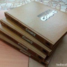 Comics : HISTORIA DE LOS CÓMICS, DE TOUTAIN, COMPLETA EN 4 TOMOS. Lote 142263322