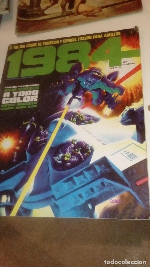 G-LO73LO30 BEN18 COMICS LOTE DE 36 COMICS TOUTAIN EDITOR 1984 VER FOTOS PARA NUMEROS Y ESTADO (Comics und Tebeos - Toutain - 1984)