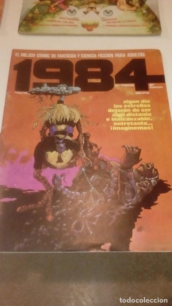 Comics: G-LO73LO30 BEN18 COMICS LOTE DE 36 COMICS TOUTAIN EDITOR 1984 VER FOTOS PARA NUMEROS Y ESTADO - Foto 8 - 142619206