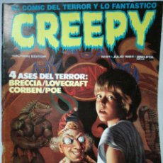Cómics: CREEPY NUM 61 · JULIO 1984. Lote 142764764