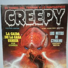 Cómics: CREEPY NUM. 60 · JUNIO 1984. Lote 142772325