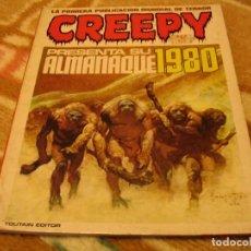 Cómics: ALMANAQUE CREEPY 1980 TOUTAIN CORBEN SEVERIN DURANONA AURALEON GI. Lote 142968418