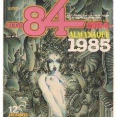 Cómics: ZONA 84. ALMANAQUE PARA 1985. TOUTAIN EDITOR. (ST/MG.A). Lote 143599422