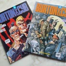 Cómics: BURTON & CYB - EDITORIAL TOUTAIN - NÚMEROS 3 Y 4. Lote 143879566