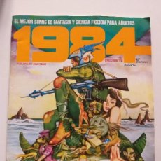 Cómics: 1984 COMIC - Nº 17 (2º EDICION) - TOUTAIN EDITOR - (INCLUYE POSTER) - MUY BUENE ESTADO. Lote 144220782
