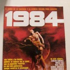 Cómics: 1984 COMIC - Nº 19 (2º EDICION) - TOUTAIN EDITOR - CARLOS GIMENEZ, MIRCO ILIC, MIKE SAENZ, BONVI. Lote 144221186
