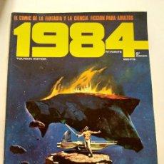 Cómics: 1984 - Nº 20 (2º EDICIÓN) - EL COMIC DE LA FANTASIA Y LA CIENCIA FICCION PARA ADULTOS (TOUTAIN). Lote 144221358