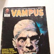 Cómics: VAMPUS Nº 27 - COMIC - (CON POSTER) - LA MOMIA CONTRA MR. HYDE - CREEPY. Lote 144221702