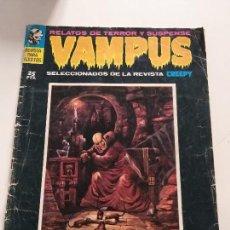 Cómics: VAMPS - COMIC - SELECCIONADOS DE LA REVISTA CREEPY - MASCARA DE ORO - TERROR Y SUSPENSE. Lote 144221930