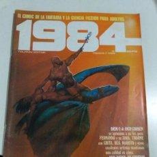 Cómics: COMIC 1984 - Nº 33 - FANTASIA Y CIENCIA FICCION - TOUTAIN EDITOR. Lote 144566638