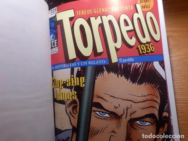 Cómics: Comic - Torpedo 1936 - 20 números en tomo - del Nº 11 al nº 20 - Bernet Abuli - Tebeos Glenat - Foto 4 - 144747030
