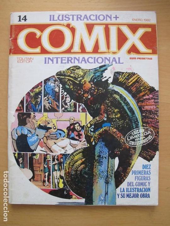 COMIX INTERNACIONAL Nº 14 (Tebeos y Comics - Toutain - Comix Internacional)