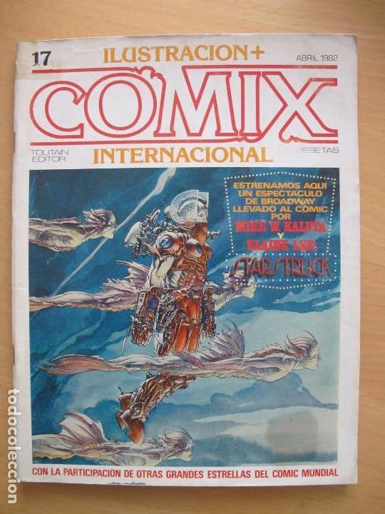 COMIX INTERNACIONAL Nº 17 (Tebeos y Comics - Toutain - Comix Internacional)