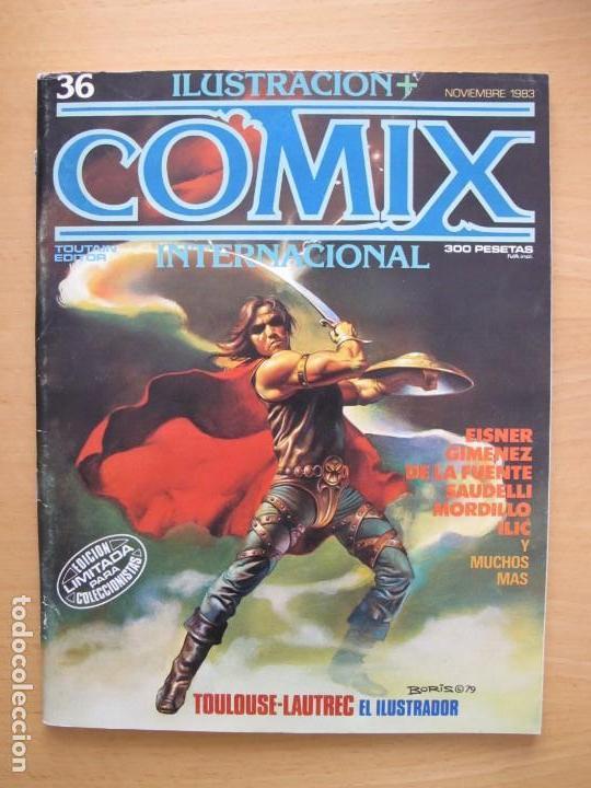 COMIX INTERNACIONAL Nº 36 (Tebeos y Comics - Toutain - Comix Internacional)