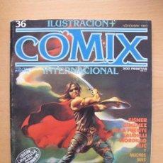Cómics: COMIX INTERNACIONAL Nº 36. Lote 145018846