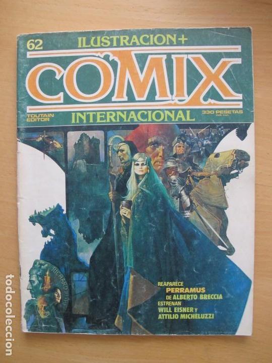 COMIX INTERNACIONAL Nº 62 (Tebeos y Comics - Toutain - Comix Internacional)