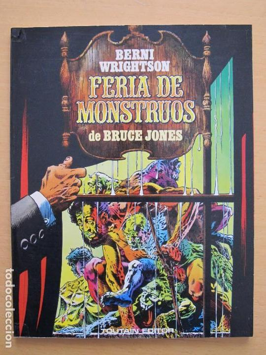 BERNI WRIGHTSON - FERIA DE MONSTRUOS - TOUTAIN EDITOR (Tebeos y Comics - Toutain - Álbumes)