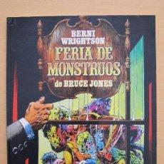 Cómics: BERNI WRIGHTSON - FERIA DE MONSTRUOS - TOUTAIN EDITOR. Lote 260575415