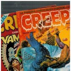 Fumetti: CREEPY. DOS NÚMEROS 13 Y 35. TOUTAIN,1979. PRIMERA EDICIÓN.. Lote 145283134