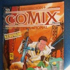Cómics: COMIX INTERNACIONAL Nº 59. Lote 145330946