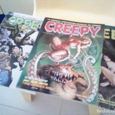 Cómics: 3 COMICS DE CREEPY, TERROR. Lote 145809182