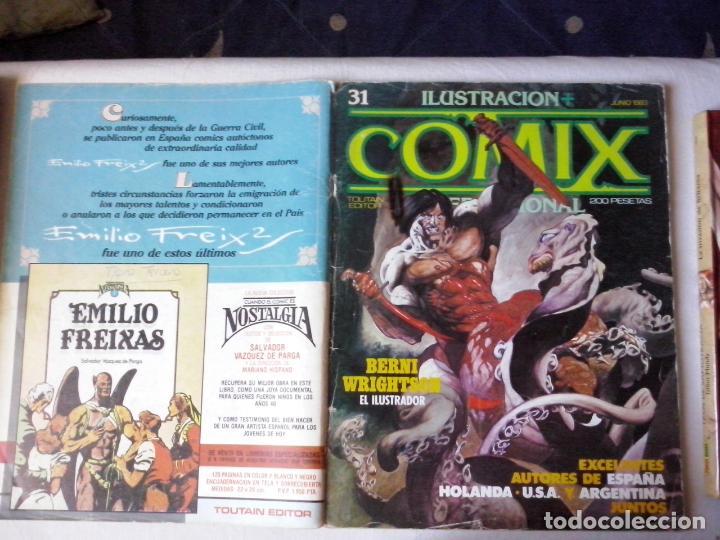 COMICS: COMIX INTERNACIONAL Nº 31 (ABLN) (Tebeos y Comics - Toutain - Comix Internacional)