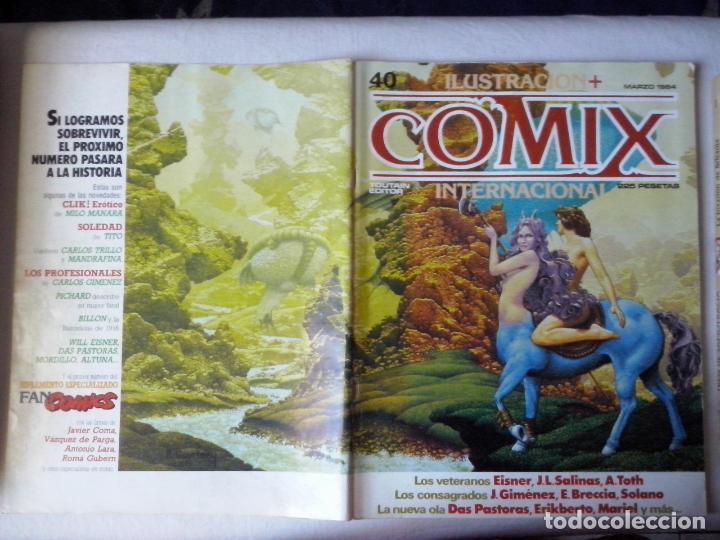 COMICS: COMIX INTERNACIONAL Nº 40 (ABLN) (Tebeos y Comics - Toutain - Comix Internacional)