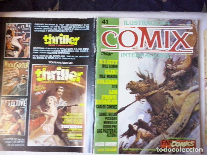 COMICS: COMIX INTERNACIONAL Nº 41 (ABLN) (Tebeos y Comics - Toutain - Comix Internacional)