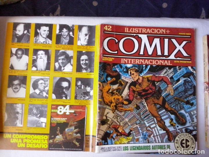 COMICS: COMIX INTERNACIONAL Nº 42 (ABLN) (Tebeos y Comics - Toutain - Comix Internacional)