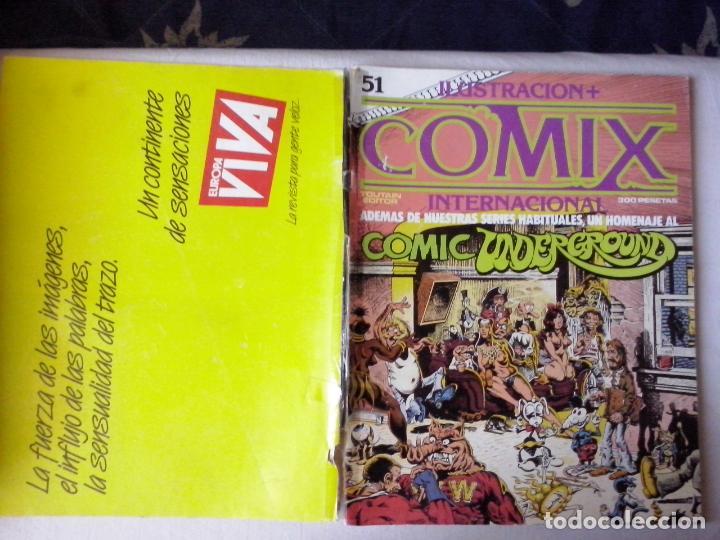 COMICS: COMIX INTERNACIONAL Nº 51 (ABLN) (Tebeos y Comics - Toutain - Comix Internacional)