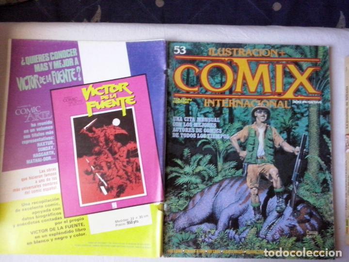 COMICS: COMIX INTERNACIONAL Nº 53 (ABLN) (Tebeos y Comics - Toutain - Comix Internacional)