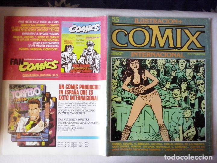 COMICS: COMIX INTERNACIONAL Nº 55 (ABLN) (Tebeos y Comics - Toutain - Comix Internacional)