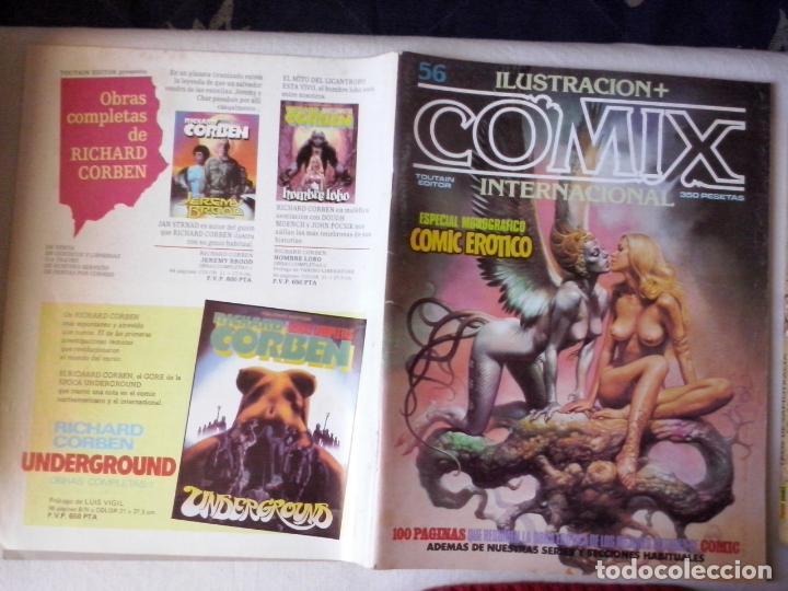 COMICS: COMIX INTERNACIONAL Nº 56 (ABLN) (Tebeos y Comics - Toutain - Comix Internacional)