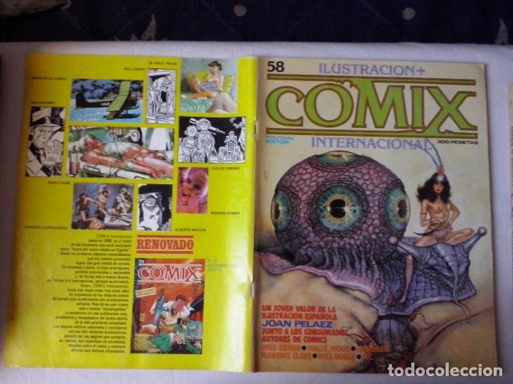 COMICS: COMIX INTERNACIONAL Nº 58 (ABLN) (Tebeos y Comics - Toutain - Comix Internacional)