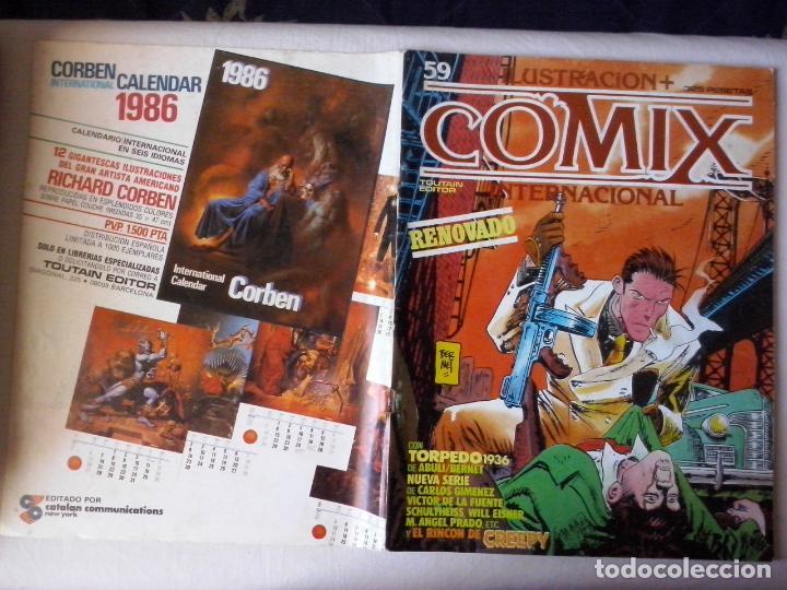 COMICS: COMIX INTERNACIONAL Nº 59 (ABLN) (Tebeos y Comics - Toutain - Comix Internacional)